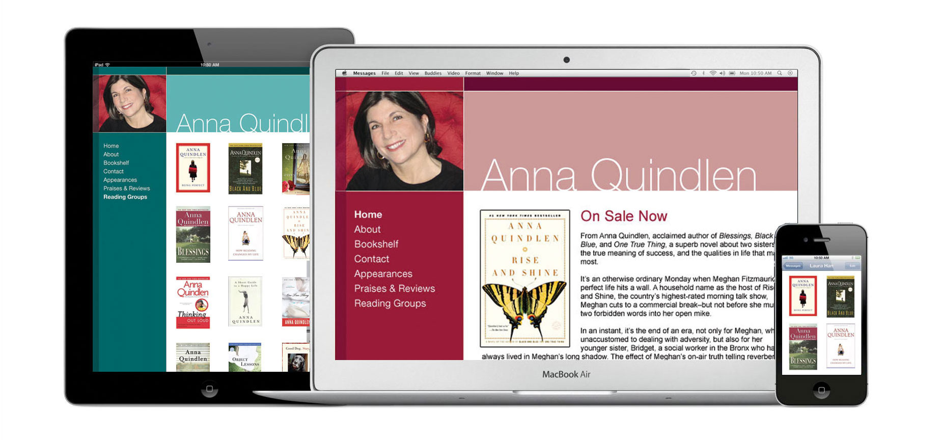 Random House author website