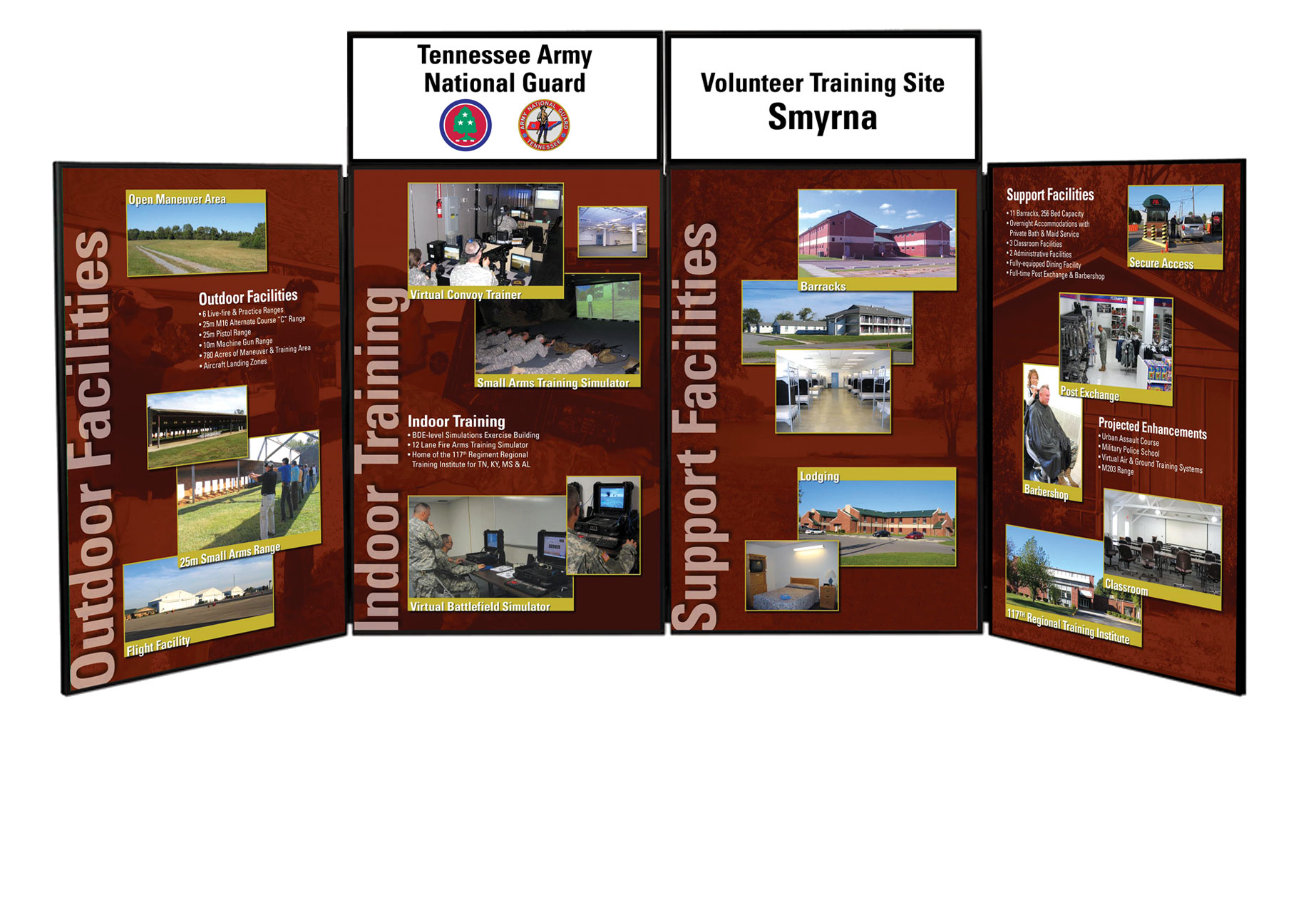 Government trade show display design